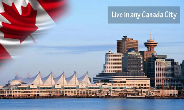 live in any canada city