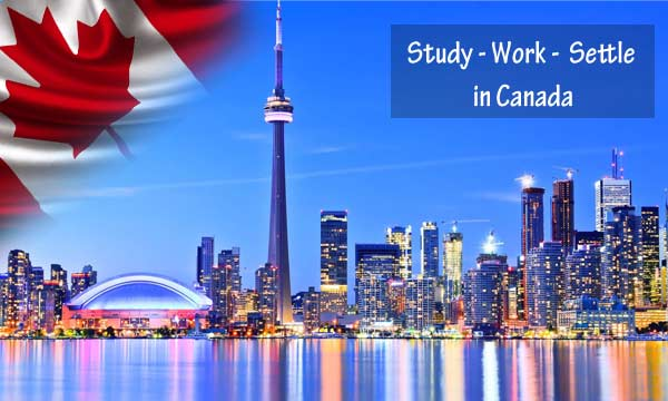 study - work & settle in canada